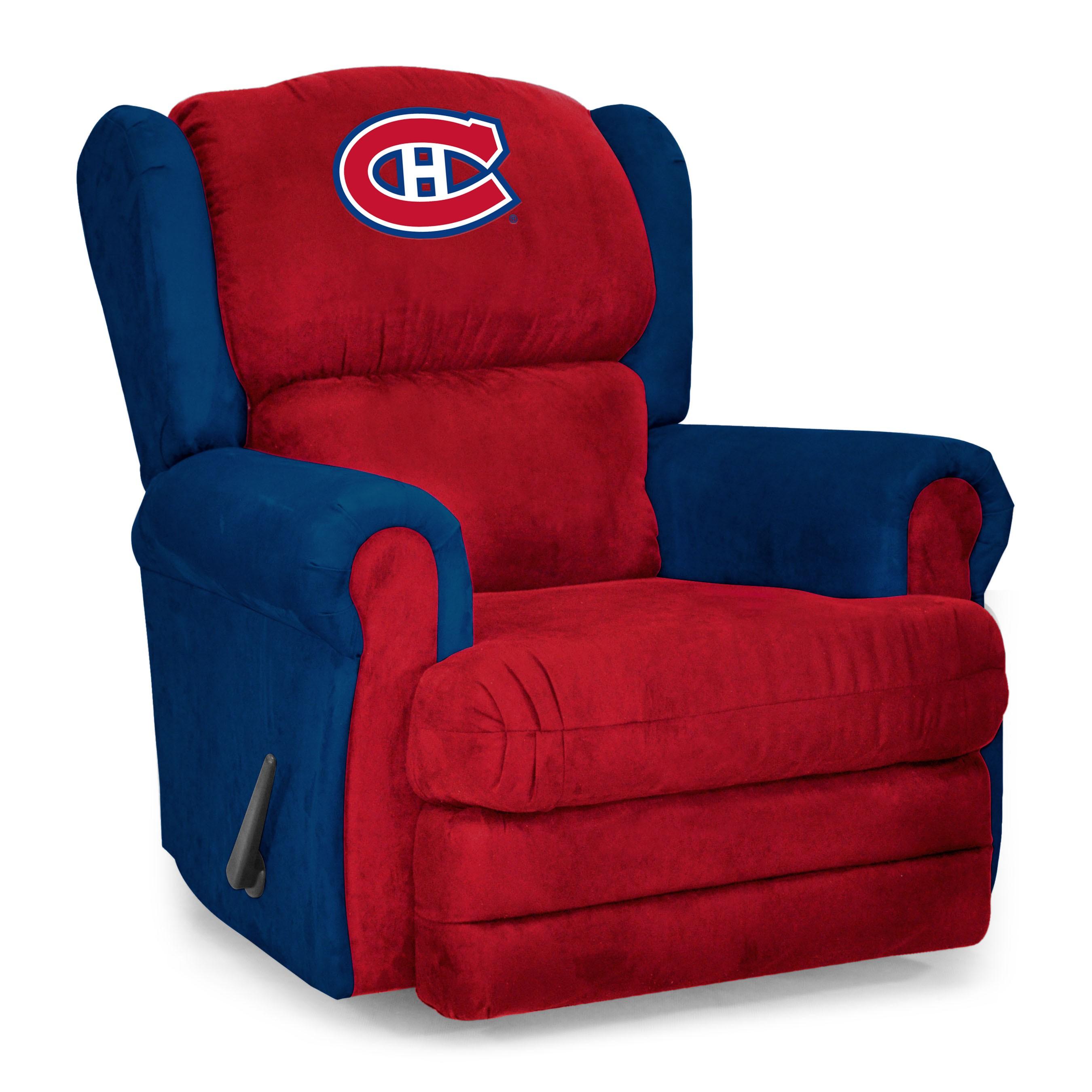 Fauteuil d'entra u00eeneur des Canadiens de Montréal Chaises et fauteuils Décoration et  # Fauteuil Canadien En Bois