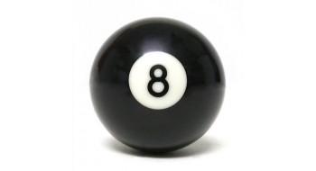 Boule de billard #8