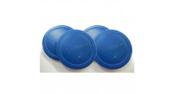 Rondelles bleu pour table Air hockey 6' et 7'