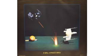 Billiard Poster strikes