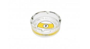 Cendrier en verre boule #9