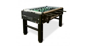 Table Soccer Adrenaline noire avec LED