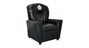 Toronto Maple Leafs® Fauteuil inclinable en similicuir pour enfant