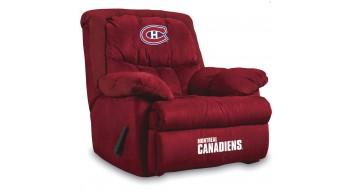 Fauteuil inclinable en microfibre Canadiens de Montréal®