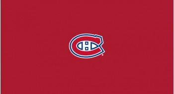 Tapis de table de billard 9p - Montreal Canadiens