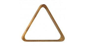 Triangle de billard en bois, 2-1/16 pouces