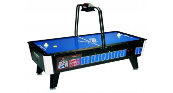 Coin Operated POWER HOCKEY Air Hockey Table With Overhead Electronic Scoring