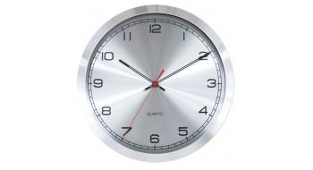 Horloge cadre en aluminium