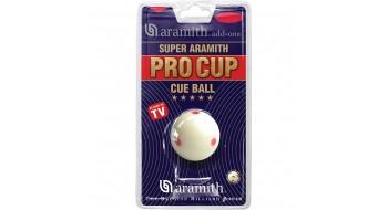 "Aramith Super Pro Cup Cue Ball 6 dot 2 1/4"""