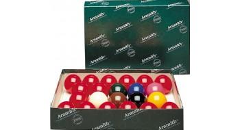 Ensemble de Boules de Snooker, Aramith 2-1/16 pouces