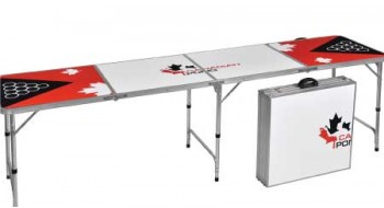 Table Beer Pong 8 Pied