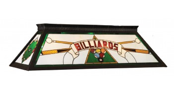 "44"" BILLIARD LIGHT WITH KD FRAME - GREEN"