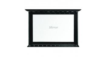 Miroir A Bar - noir