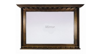 Mirroir A Bar - Chestnut
