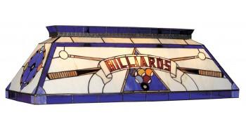 """44"""" TIFFANY BILLIARD LIGHT-BLUE"""
