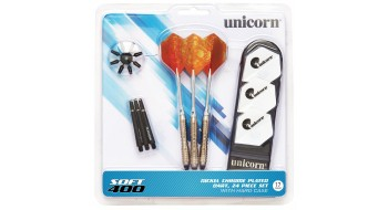 Unicorn Soft 400 Dart Set