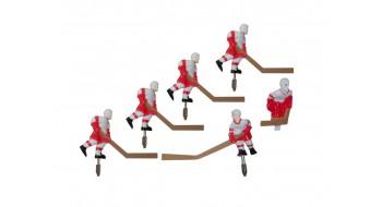 Équipe Carrom metal rouge