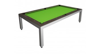 Table Diner Billard Fusion Table inox 7p
