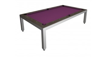 Table Diner Billard Fusion Table Aluminium 7p