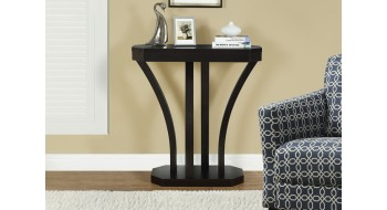 TABLE CONSOLE D'APPOINT 32″L CAPPUCCINO
