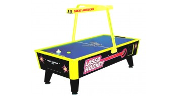 Table Air Hockey commercial avec monnayeur - Laser Hockey