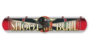 Ligne de tire pour jeu de dard Bull Rouge