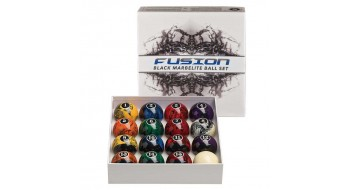 Black Fusion Marbelite Balls
