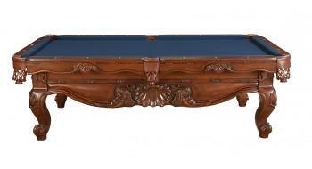 Table de billard 8P monarch avec tapis bleu_marin#58