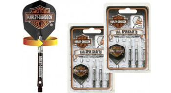 Plume de dard Harley Davidson - Tailspin - et tiges