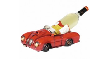 Red Car Wine Caddie