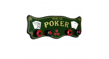Pub Sign - Poker Coat Rack