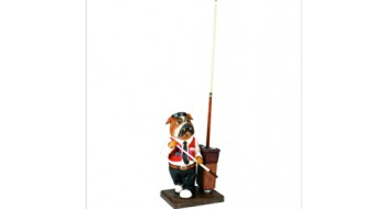 Bulldog Pool Cue Holder