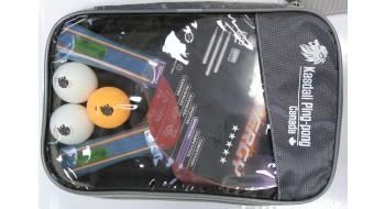 Sac Gris de raquette ping pong