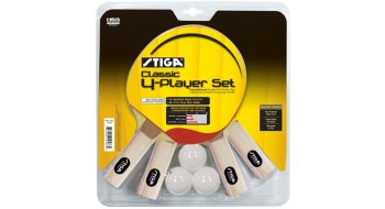4 raquettes 3 balles de tennis  Stiga T1334