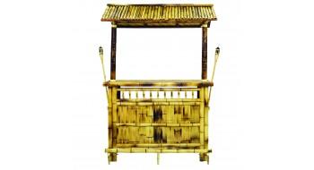 60″ Bamboo Tiki Bar