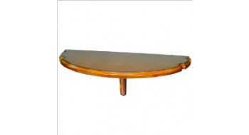 Table murale avec repose-Baguette CHESTNUT