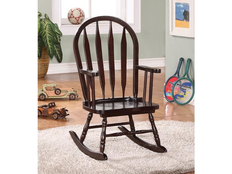 Chaise ber ante juvenile cappuccino chaises et fauteuils for Liquidation chaise bercante