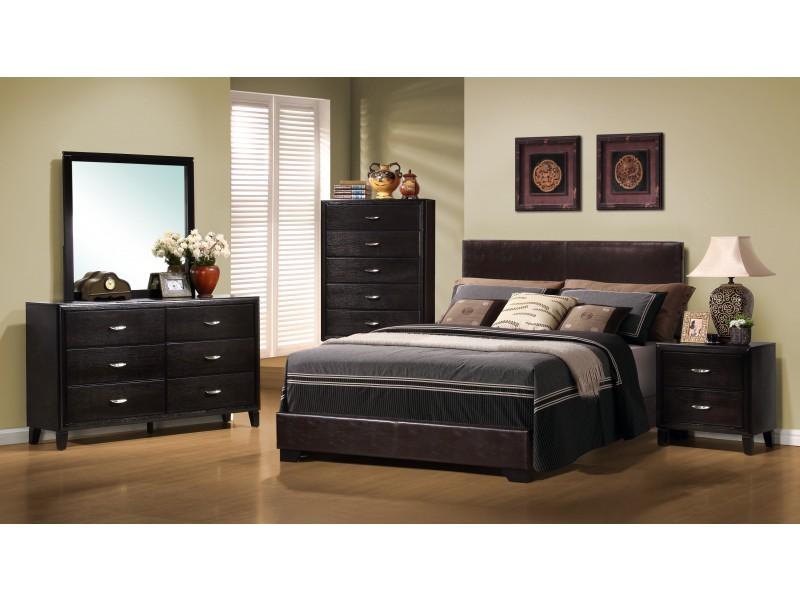 lit queen size simili cuir brun fonc pool tables tables de billard. Black Bedroom Furniture Sets. Home Design Ideas
