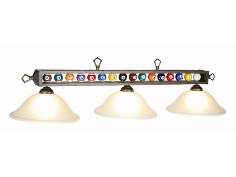 56 3 lt lampe vitr e boules de billard pool tables tables de billard - Lampe pour table de billard ...