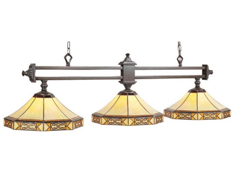 3lt 56 lampe mission filigr e billard et accessoires pool tables - Lampe pour table de billard ...