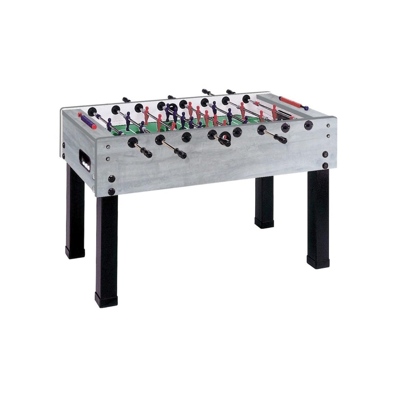 TABLE DE FOOSBALL GARLANDO G-500 en Chêne rouvre