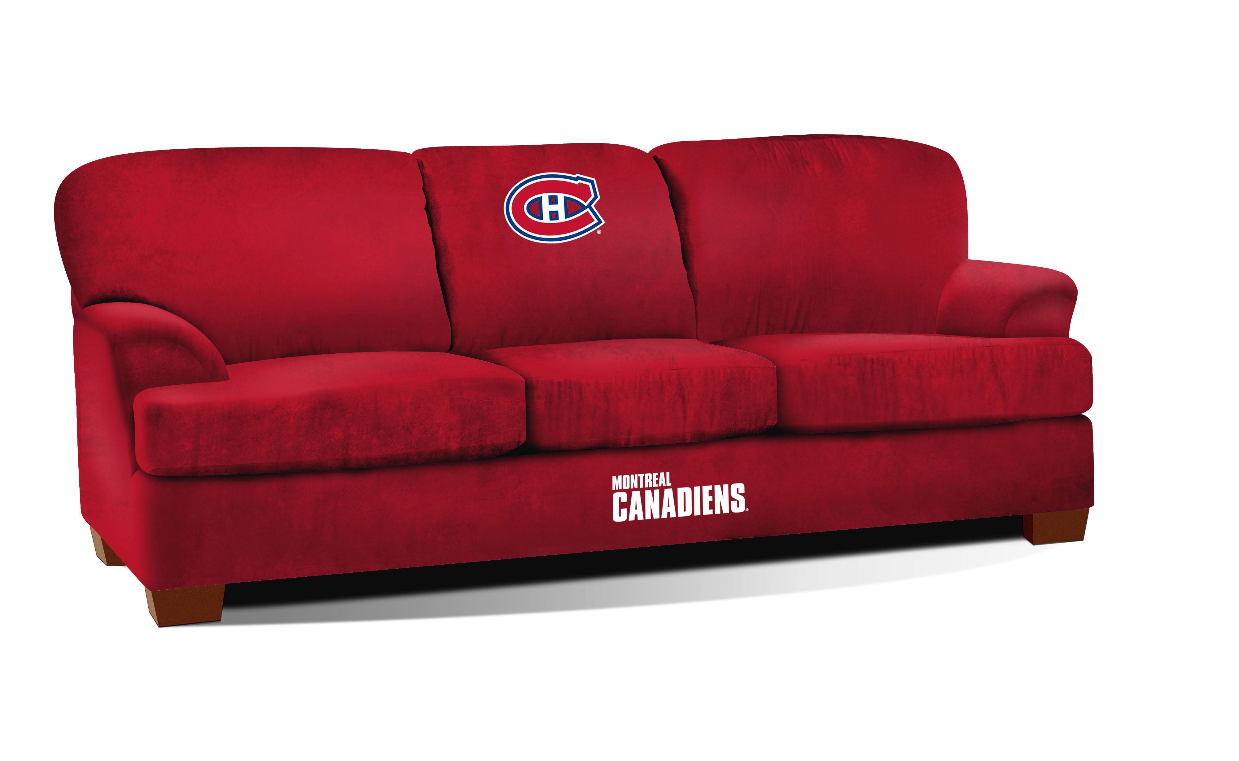 Sofa en microfibre Canadien de Montreal