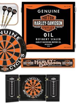 Harley-Davidson Oil Can Darts Kit