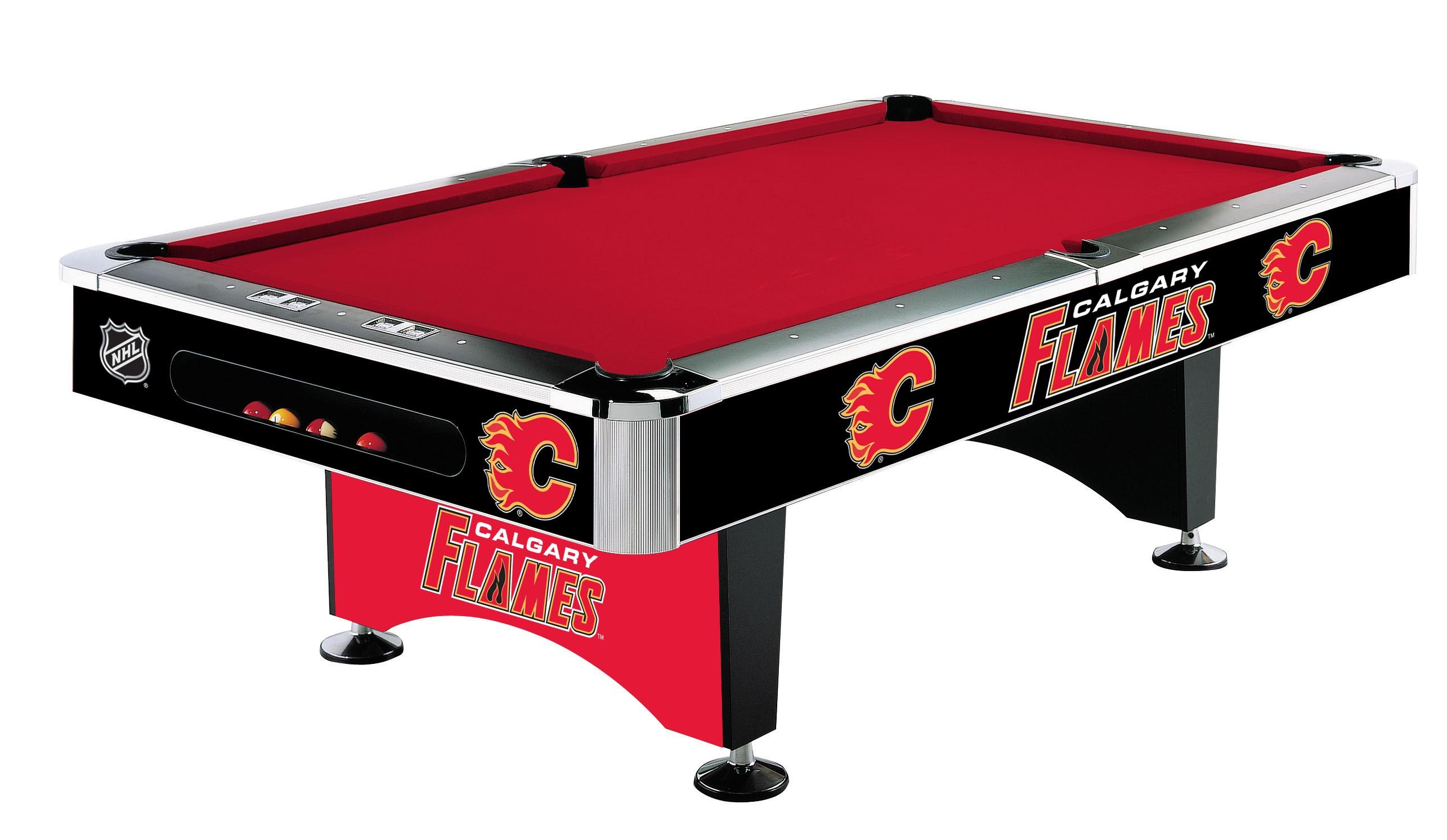 Table Billard 8p Calgary Flames®