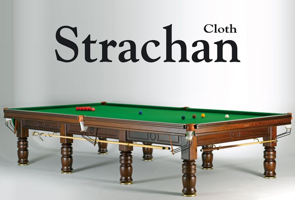 Tapis 12P COMPLET Strachan 6811  vert Tournament