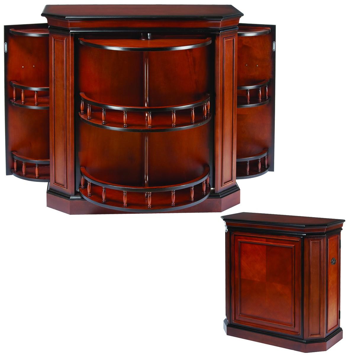 Bar Cabinet avec broche - Chestnut