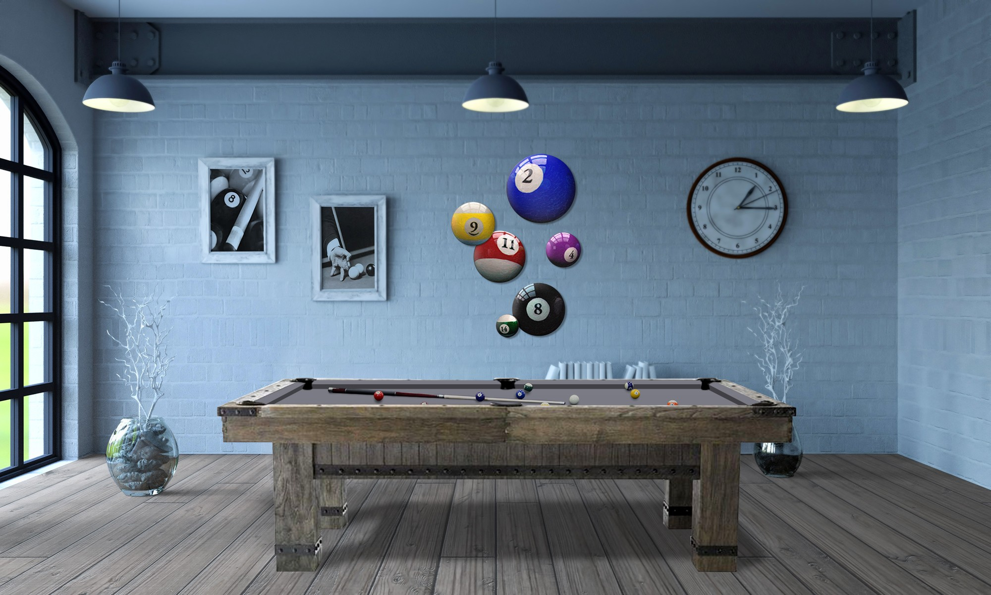 Table Billard Viking 8p