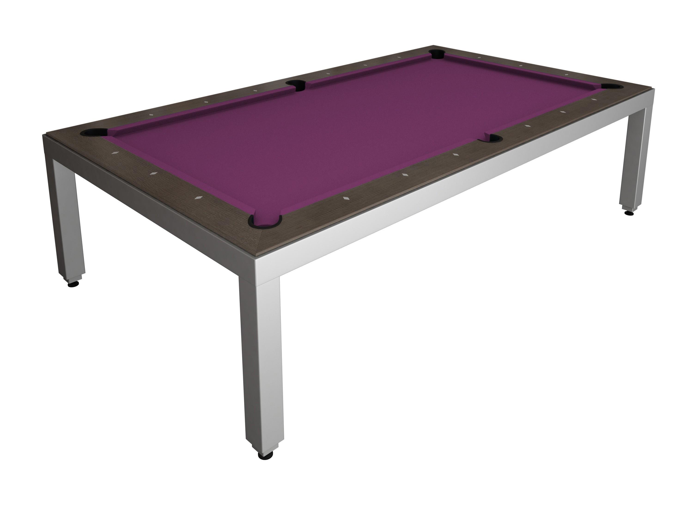 Table Diner Billard Fusion Table Aluminium 7p