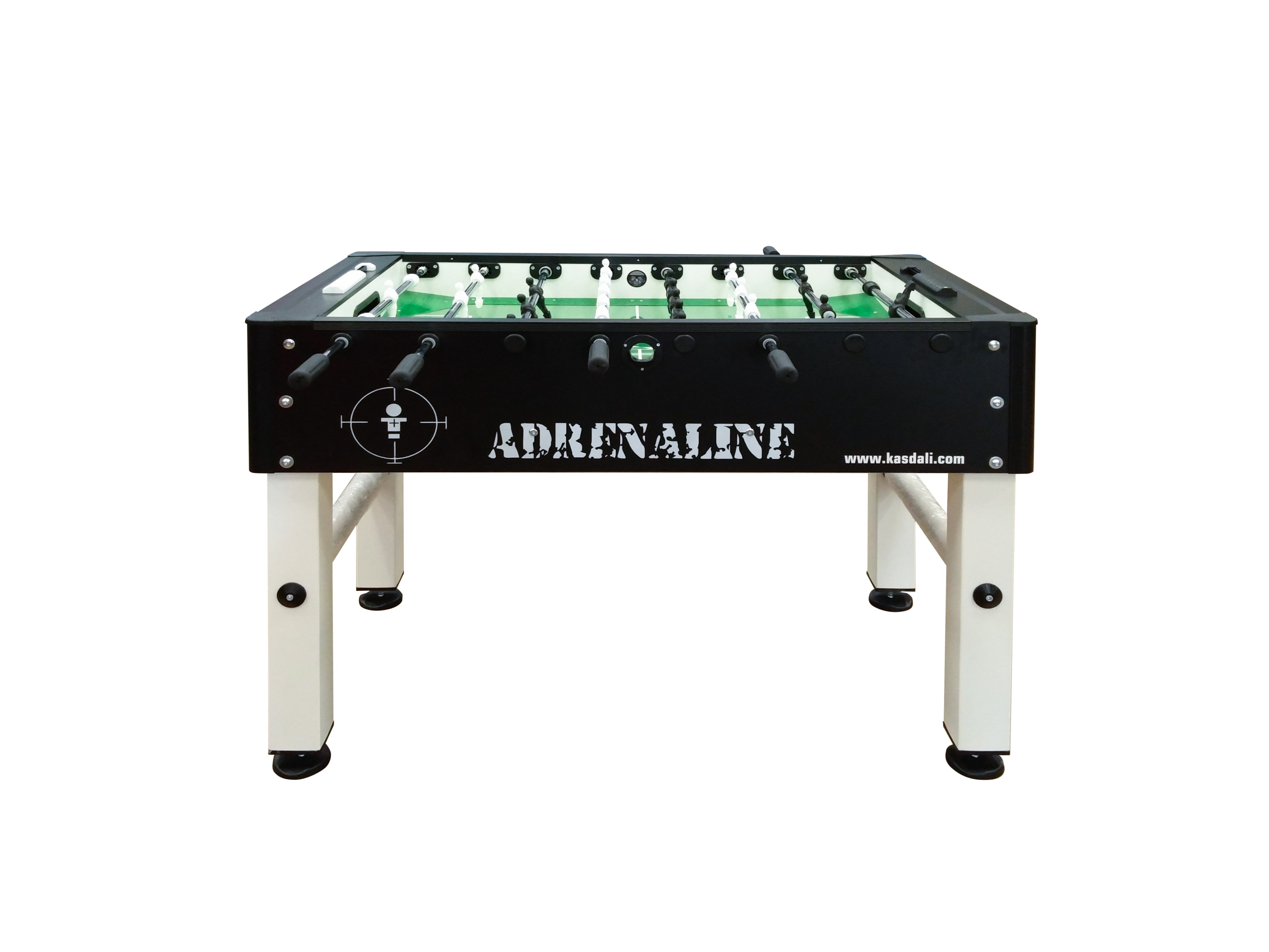 Table Soccer Adrenaline noire et blanc