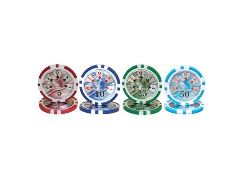 Jetons Poker 14gr Benjamin Franklin